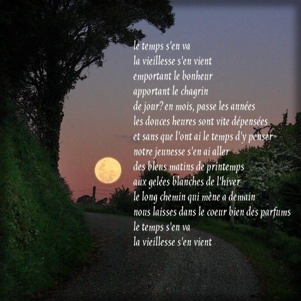 Poeme le temp - Citation sur un coup de foudre ...