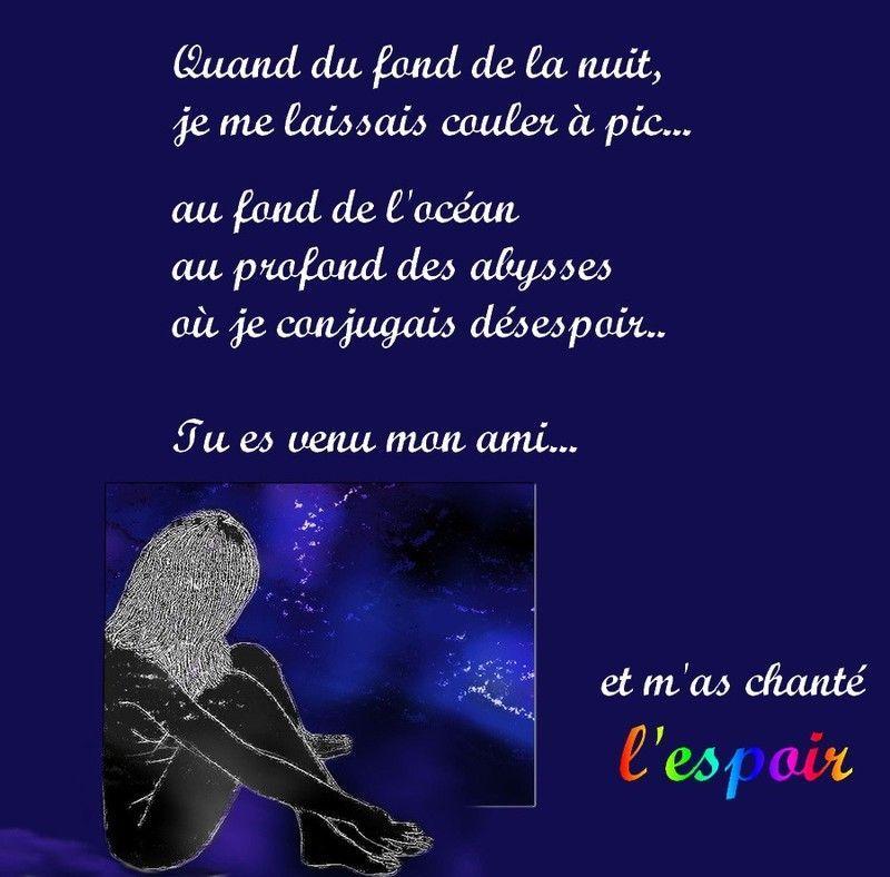 Poeme D Espoir